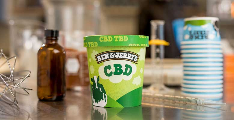 Ben and Jerry CBD